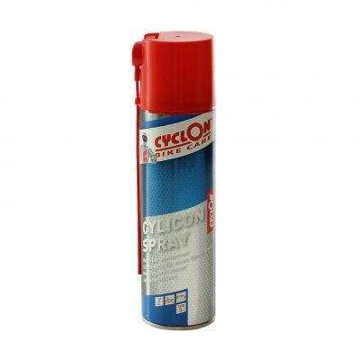 Cyclon Cylicon Spray 250 ML matte oppervlakes