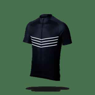 BBB Fietsshirt Korte Mouw ComfortFit Zwart