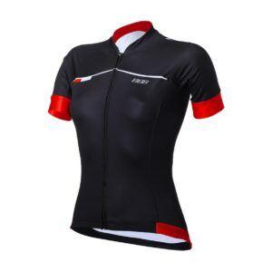Omnium-rood-zwart-damesfietsen