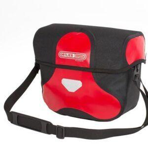 Ortlieb stuurtas ultimate classic rood zwart 1