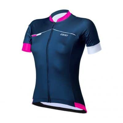 Vrouwenwielershirt-Omnium-blauw-roze
