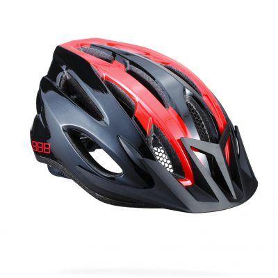 BBB-fietshelm-condor-zwart-rood
