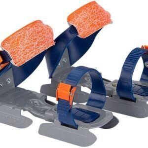 Nijdam Glij-ijzers Verstelbaar Pinguin Blauw Oranje