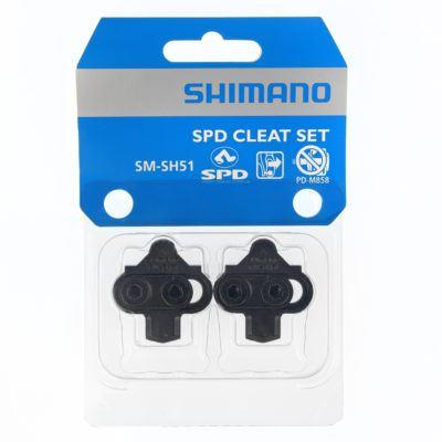 Shimano Spd Schoenplaatjes Set Zwart