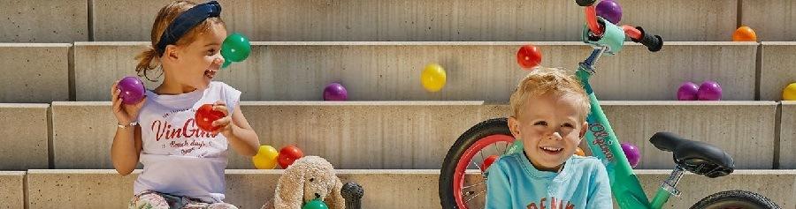 Sfeer Kinderfietsen