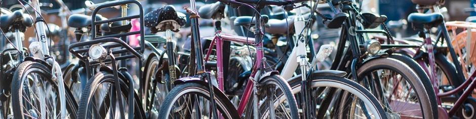 Sfeer Tweedehands fietsen