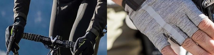 Sfeer beeld handschoen winter en zomer