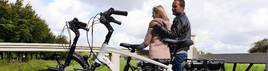 Sfeerbanner Elektrische fietsen